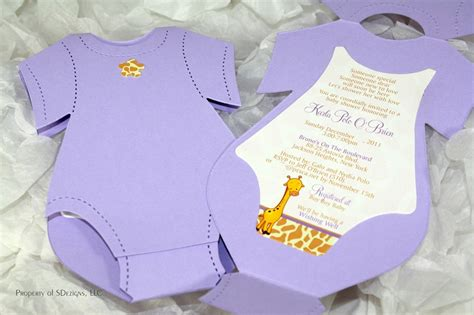 Top 10 Creative Diy Baby Shower Invitation Ideas Diy Baby Shower Invitations Template