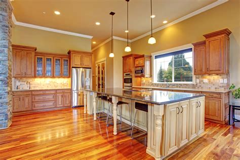 Hardwood Floors With Golden Oak Cabinets Thefloors Co