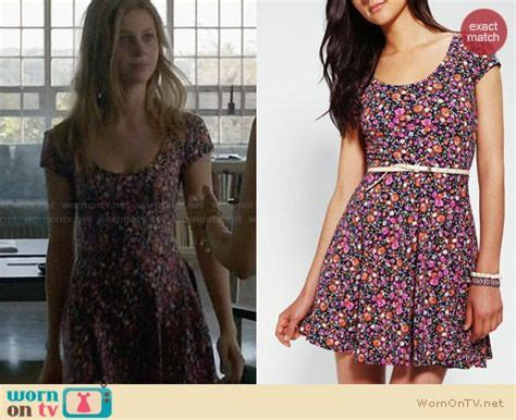 wornontv bradley s floral dress on bates motel nicola