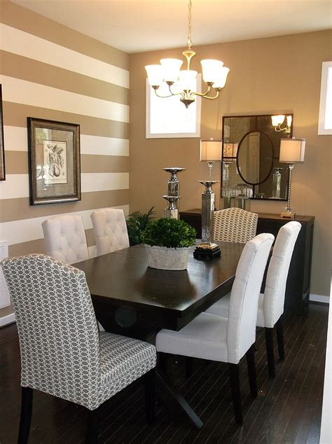 dining room accent wall 10 dining rooms with snazzy striped accent walls