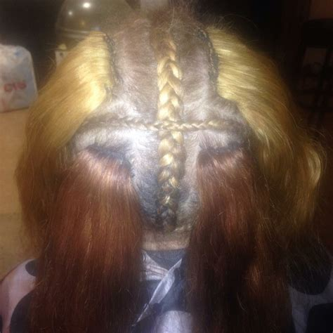 glue in french braids hair weave services celebrity weaves and wigs