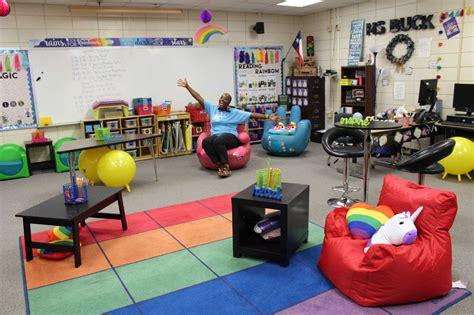 arrangement of classroom articles north belt elementary teacher trades desks for flexible