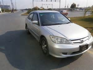 Used Cars For Sale Honda Civic Used Honda Civic Exi 2005 Car For Sale Price In Lahore