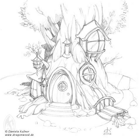 coloring sheet tree house fairy tree house coloring pages google search http