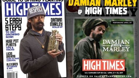 High Times Magazine Thc Detox by Damian Marley Graces June Cover Of High Times Magazine