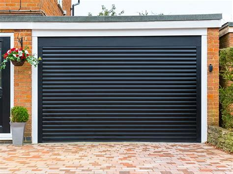 Roll Garage Doors Automatic Roller Garage Doors Everest