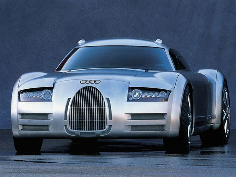 Audi Rosemeyer Concept by Audi Rosemeyer Concept 2000 Old Concept Cars