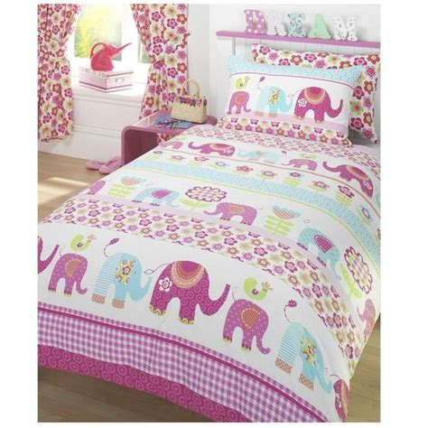 elephant twin bedding elephant bedding for girls cover pillow case set