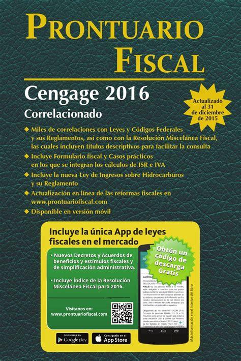 estructura de la fisco agenda 2016 pdf fisco agenda 2016 gratis la fisco agenda pdf 2016