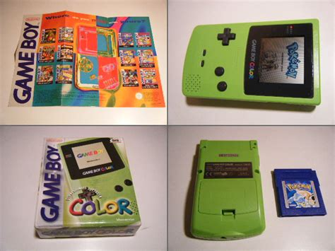 gameboy color green boy color green www imgkid the image kid has it