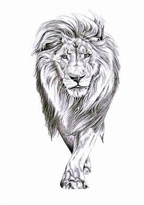 full body lioness tattoo lion walking kinda like this compared to just the head