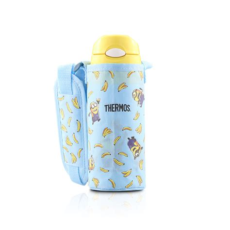 Doraemon Minions Pouch fhl 400 minions cold bottle with pouch thermos malaysia