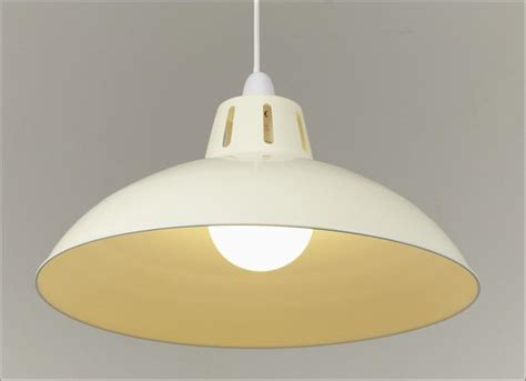Big Ceiling Light Shades by Retro Large Metal Coolie Glossy Lshade Ceiling Pendant