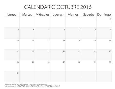 calendario 2016 de anotaciones calendarios 2016 para imprimir