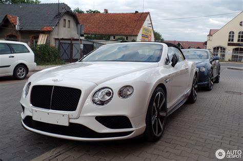 Bentley Continental Gtc by Bentley Continental Gtc V8 S 2016 16 Juni 2015 Autogespot
