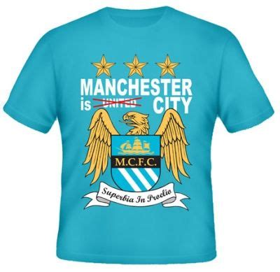 Kaos Bola United Bs 34 kaos manchester is city not united kaos premium