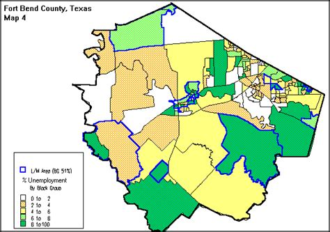 map of fort bend county fort bend county consolidated plan for 1995 executive summary
