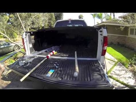 flag pole mount for truck bed how to build flag mount for truck youtube