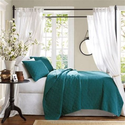 Teal Coverlet Teal Bedding House And Home Ideas