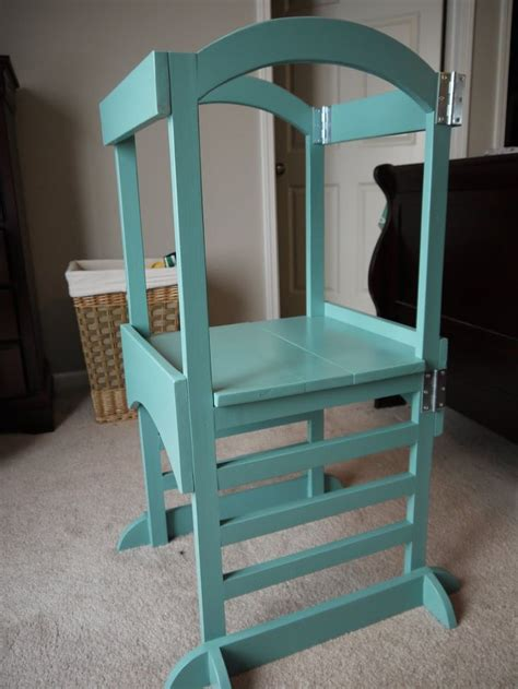 kitchen helper stool diy white build a the helper tower free and