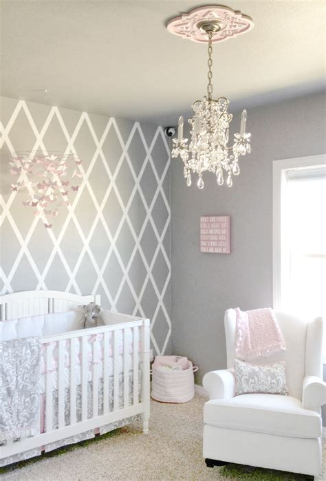 pink baby nursery beautiful gray and pink nursery features our stella gray