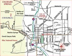 city map of colorado springs colorado springs colorado city map colorado springs