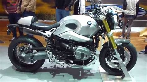 bmw  ninet special edition  brushed aluminium