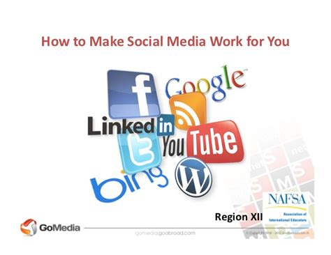 how to make lwork how to make social media work for you