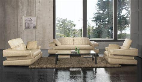 beige leather living room set beige leather upholstery living room set w adjustable back