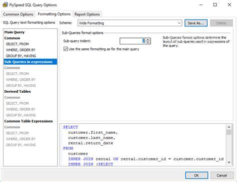 tutorial flyspeed sql query flyspeed sql query manual uploadft