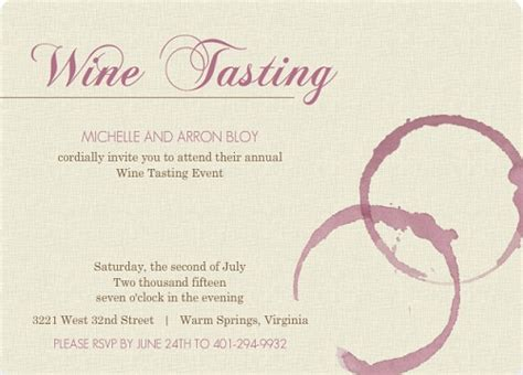 Wine Party Inspiration And Tips Wine Tasting Invitation Template Free