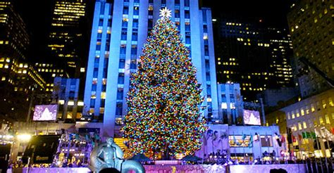 Location Independence At Christmas New York And London Lighting Of Tree Nyc 2014