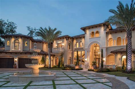 Design A Mansion Mediterranean Home Entry Motor Court Achitectural