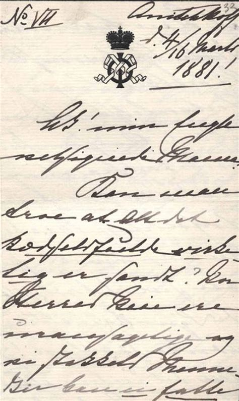 a letter from empress feodorovna to louise of denmark anichkov palace