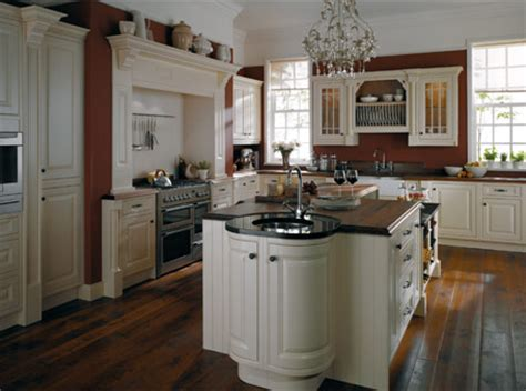 Handmade Kitchens Glasgow - handmade traditional kitchen designed by black orchid