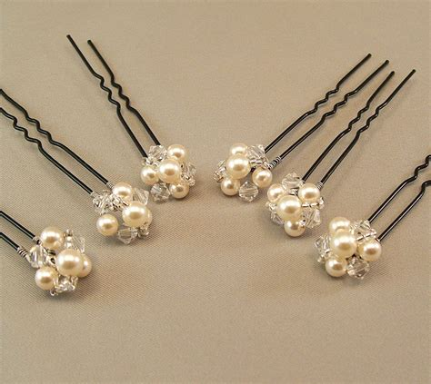 Wedding Hair Accessories With Pearls by Pearl Wedding Hair Accessories Bridal Hairpins Bridal