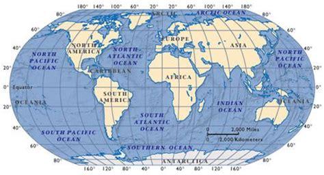 oceans  seas oceans  continents