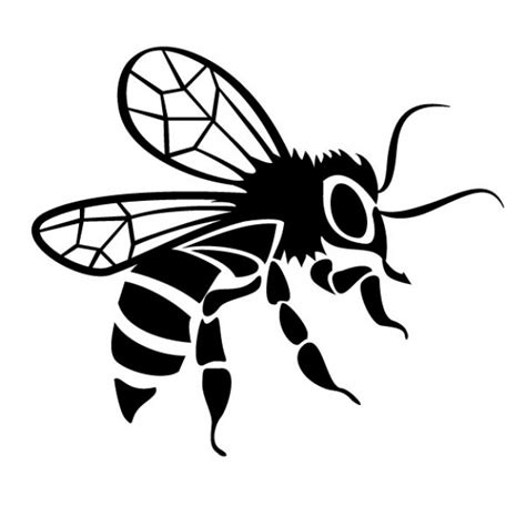 Karpet Set Motif Bee Lebah black bee drawing vector image vector free