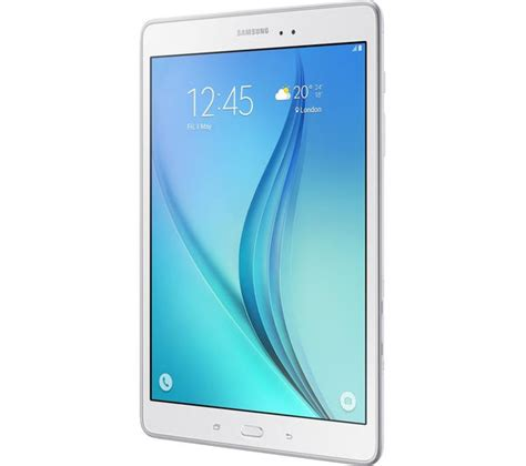Samsung Tab 4g samsung galaxy tab a 9 7 quot 4g tablet 16 gb white deals pc world