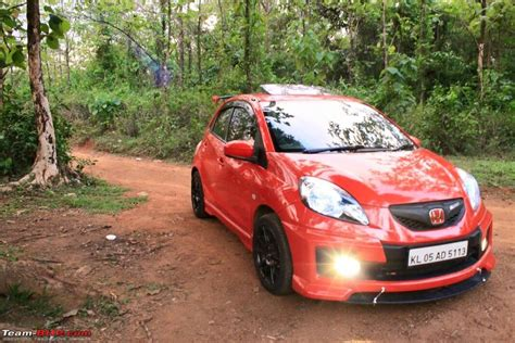 modified honda brio pics tastefully modified cars in india page 222 team bhp