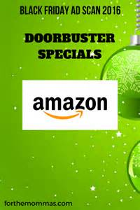 black friday amazon 2016 deals amazon doorbusters black friday ad for 2016 ftm