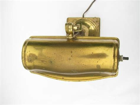 solid brass bankers l vintage solid brass banker s desk or music room piano l