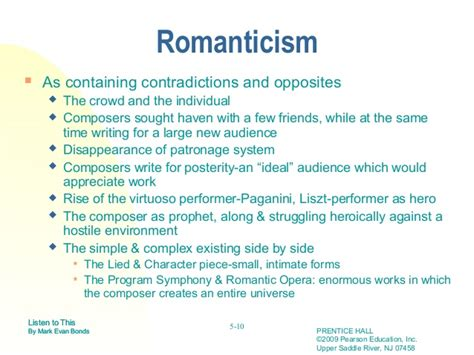 Romanticism In Literature Essay by Classicism Vs Romanticism