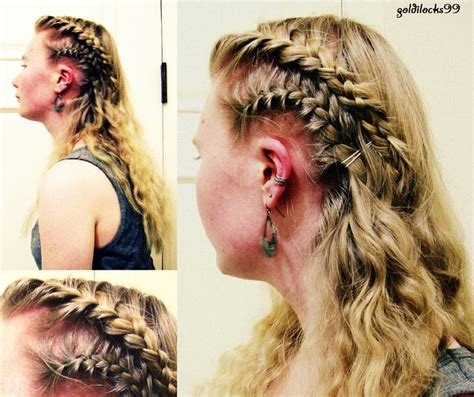 how to braid hair like a viking 109 best viking hair style images on pinterest hairstyle