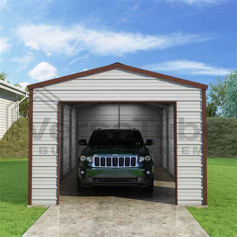 12 X 20 Garage by Frontier Garage 12 X 20 X 8 Garage Or Building