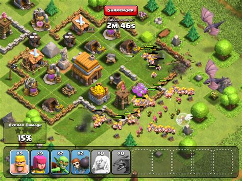 Puzzle Clash Of Clanz clash of clans lead your clan to victory on ios aol