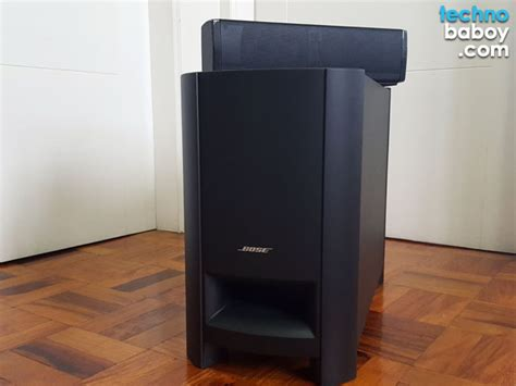 bose cinemate  home theatre speaker system review