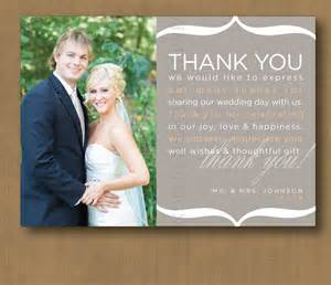wedding thank you cards etiquette wedding thank you card wording for more sweet to come