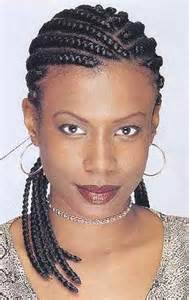 French braids can be created in a variety of patterns like zig zags