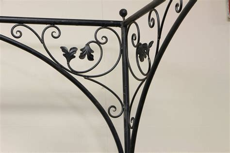wrought iron queen bed queen wrought iron vine canopy bed for sale at 1stdibs